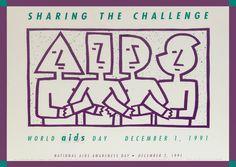 National AIDS awareness 1991