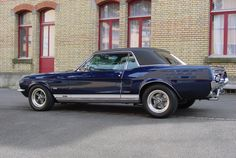 Ford Mustang Coupe GT/A 1967