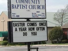 Church sign gone WAY wrong...