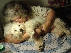Teddy havin a lovin with his mama b4 bed…xx
