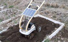 Solar-Powered Garden Tillers - This DIY Backyard Tiller Reduces Noise and Energy Consumption
