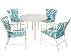 Furniture: Gabriela Vintage Patio Set 6 Striped Vinyl Strap By Tropitone Furniture For Outdoor Furniture Ideas Diy Patio Furniture, Brown Jordan Patio Furniture, Aluminium Outdoor Furniture, Cool House Designs, Vintage Patio, Patio Chairs, Outdoor Furnishings, Wicker Furniture, Patio Furniture Makeover