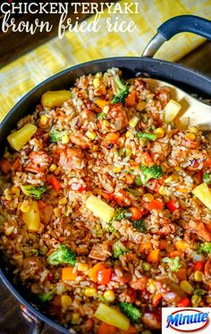 Herb Marinated Salmon & Savory Rice | Recipe | Marinated Salmon, Fish ...
