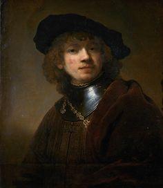 Rembrandt Portrait, Portrait Art, Male Portraits, Painters, Van, Classic, Frames, Rembrandt Paintings, Derby