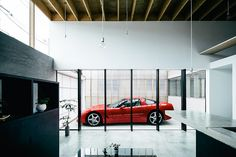 A MUST SEE..., A cray, cray garage, but what a conversation piece! - Garage Terrace House | Uncrate