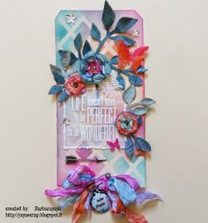 yaya scrap & more: Compendium of curiosity 3 challenge #2 : Life doesn't have to be perfect.....