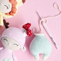 New spring collection. Soon in my etsy store. Crochet Bear, Cute Crochet, Crochet Toys, Handmade Baby, Handmade Toys, Baby's First Doll, Cute Teddy Bears, Newborn Photography Props, Fairy Dolls