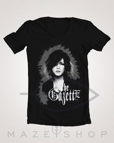 The Gazette Ruki Black Moral Dogma Ugly T-Shirt Babymetal One ok Rock Girugamesh #Handmade #BasicTee