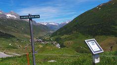 Furka (Hospental / Realp) - yes, James Bond Street. Bond Street, James Bond, Alps, Mountains, Nature, Travel, Italia, Naturaleza, Viajes