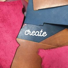 Creaters gonna create! Our beautiful mix of coloured leather look great against our different woods. What's your preference? #MumPrenuerHour #handmade #mycreativebiz