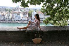 MIXING PATTERNS Switzerland Vacation, Mixing Patterns, Zurich, Old Town, Lily Pulitzer, Fashion, Old City, Moda, Fashion Styles
