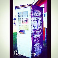 New custom Photo Booth Outhouse made by Pickin Daisies for Cherry Hill.  Http://www.facebook.com/pickindaisies