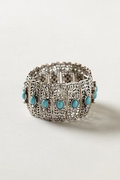 Turquoise Filigree Bracelet