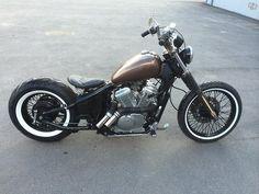 Honda Shadow 600 by Rasmus | Bobber Inspiration - Bobbers and Custom Motorcycles September 2014