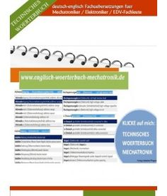 Kfz- Azubis aufgepasst: Mechatronik- Vokabeln Lernen