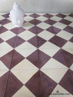 Sadus Tiles handmade cement / concrete tiles from Bali