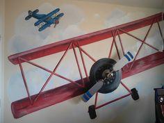 Boys Airplane Room - Design Dazzle