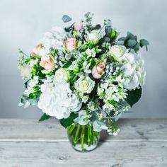 Premium White Delight Flower Garden Bouquet | Waitrose Florist