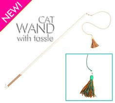 Cat Wand with Tassle #cat products