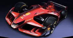 Ferrari has released images of a striking-looking Formula 1 concept car that it hopes fuels the debate about the dramatic changes the sport should be considering. Following weeks of work from Ferrari's own in-house design studio, in close co-operation with its F1 aerodynamic department, the result is a very futuristic looking car that still sticks to the general concept of current regulations. It features a double decker front wing and sleekly sculpted bodywork, plus a simple large rear…