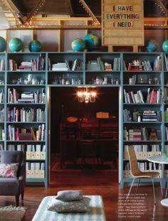 Bookshelf Entrance