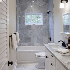1000 images about hall bath remodel ideas on pinterest for Small hall bathroom remodel ideas