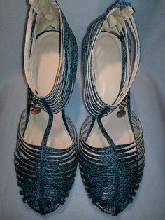 Sandałki na szpilce - Lady-Kate23 - Wysokie obcasy