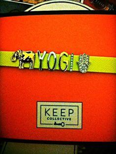 Keep Collective-Leather Band Bracelet  Yogi- contact- shelly.waite@aol.com