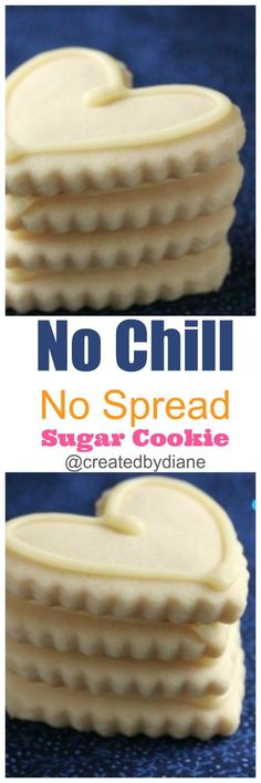 no-chill-no-spread-sugar-cookie-recipe-DO NOT start your holiday cookie bakign without this recipe /createdbydiane/
