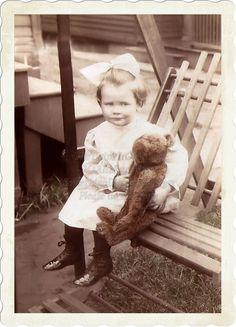 vintage teddy