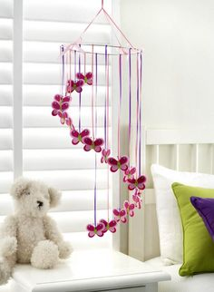 images of butterfly mobiles | Butterfly Mobile