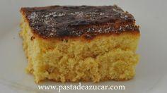 Pasta de Azucar: Bizcocho de naranja sin aceite, ni mantequilla, ni yogurt...