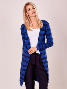 Kardigán modrý, veľkosť uni, vhodný pre S, M Uni, Sweaters, Fashion, Moda, Fashion Styles, Sweater, Fashion Illustrations, Sweatshirts, Pullover Sweaters