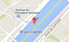 Pont Rouelle: carte