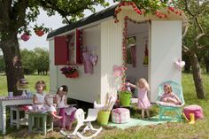 Bibelotte collection Blossom #pipowagen #zomer #speelhuisje