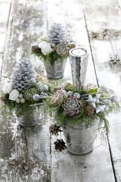 Cool 40 Totally Inspiring Blue Christmas Centerpieces Ideas. More at https://trendecor.co/2017/12/12/40-totally-inspiring-blue-christmas-centerpieces-ideas/