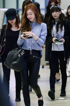 SNSD Airport fashion 140428