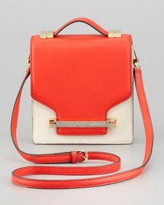 Sonata Julia Crossbody Bag, Fiery Coral by Vince Camuto at Neiman Marcus.  SAR 637.30