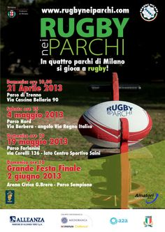 Rugby nei parchi 2013