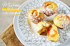 Recette muffins abricots - Muffins à la vanille et crème mascarpone chez Kaderick en Kuizinn