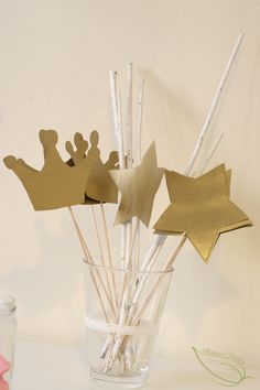 DIY : Fabriquer des baguettes magiques à partir de carton d'emballage alimentaire