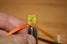Retro Ribbon Barrettes!