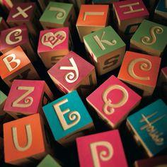 Alexander Girard - Alphabet Blocks