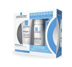 La Roche Posay, zestaw Rosaliac UV: krem do twarzy 40 ml, woda termalna 50 ml, Kerium szampon 50 ml