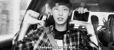 Everytime I listen to 2ne1 I Am The Best, Chanyeol doing it right XD