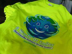 A world of smiles #pediatricdental #dentist