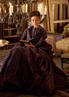 Keira Knightley in the title role of Anna Karenina (2012)