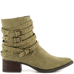Andrea - Olive Micro Penny Loves Kenny |  $114 BUY ➜ http://shoespost.com/andrea-olive-micro-penny-loves-kenny/