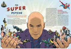 Grant Morrison's Playboy interview. Sweet Frank Quietly art!