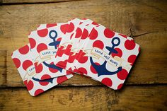 Come Sail Away   Set of 10 Nautical Paper by KellyElliottCreative